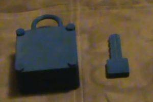 Un candado… y su llave Foto:Jeremiah Truesdell. Imagen Por: