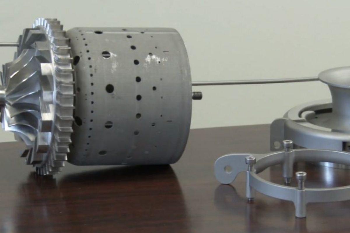 Turbinas y objetos mecánicos. Foto:General Electric. Imagen Por: