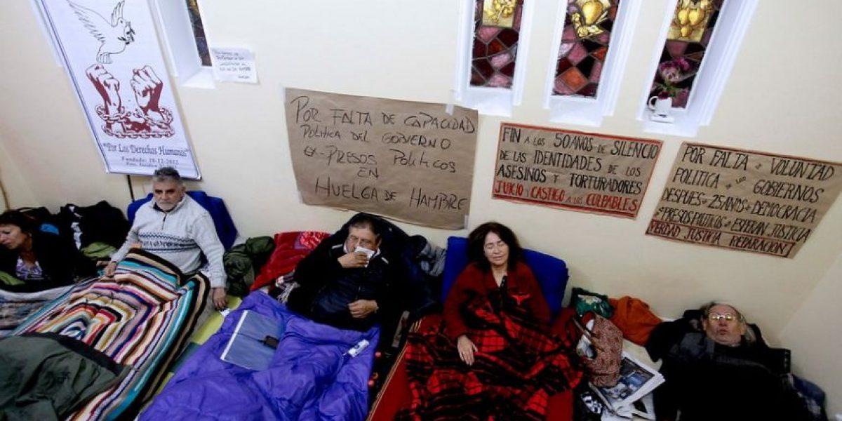 Huelga de hambre: Gobierno dialogó con ex presos políticos