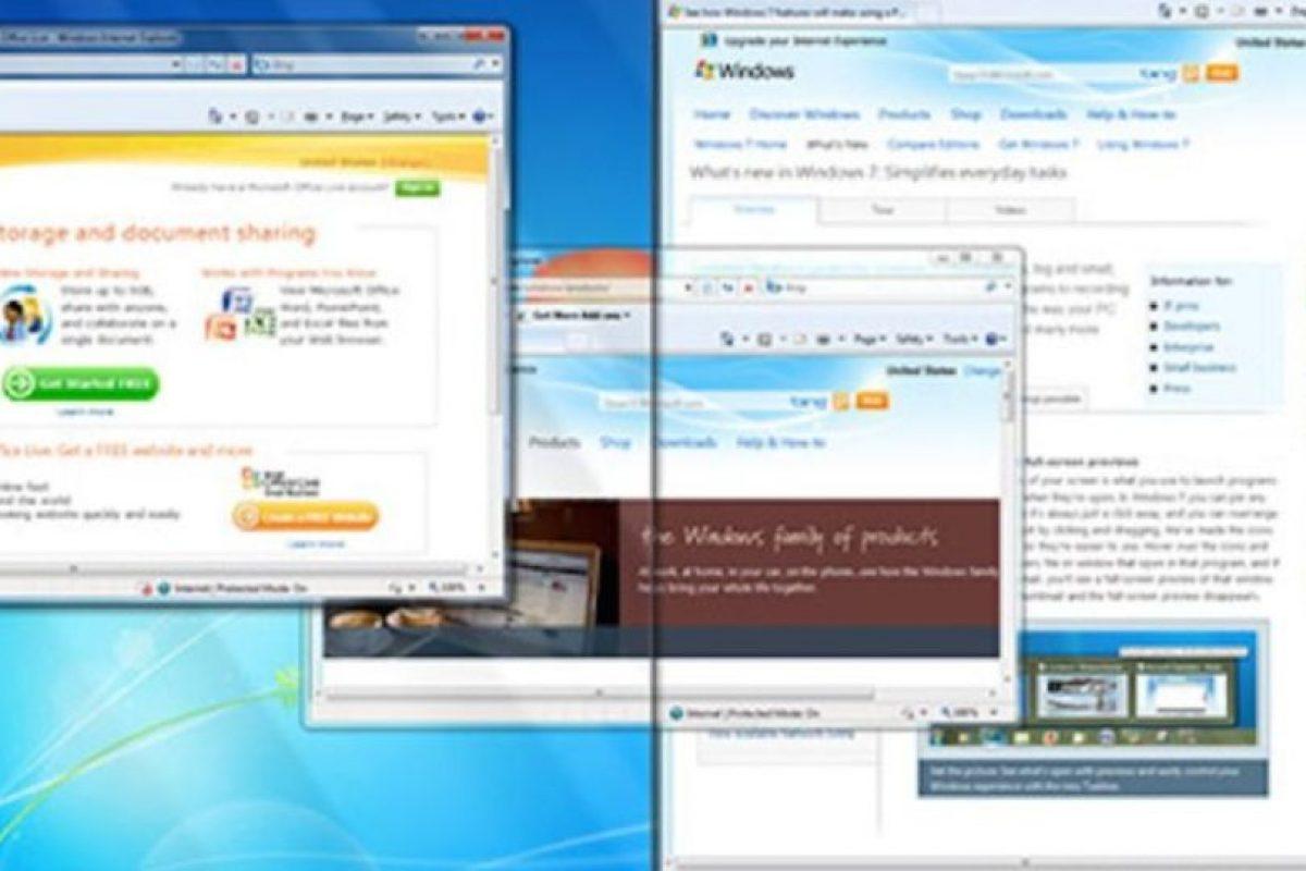 Después, Windows nos sorprendería con el Windows 7. Con esté sistema, Microsoft terminaría una etapa de desarrollo para PC. Foto:Vía windows.microsoft.com. Imagen Por: