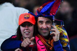 La afición del Barcelona está de fiesta esta temporada, pues su equipo logró coronarse campeón de Liga. Foto:Getty Images. Imagen Por: