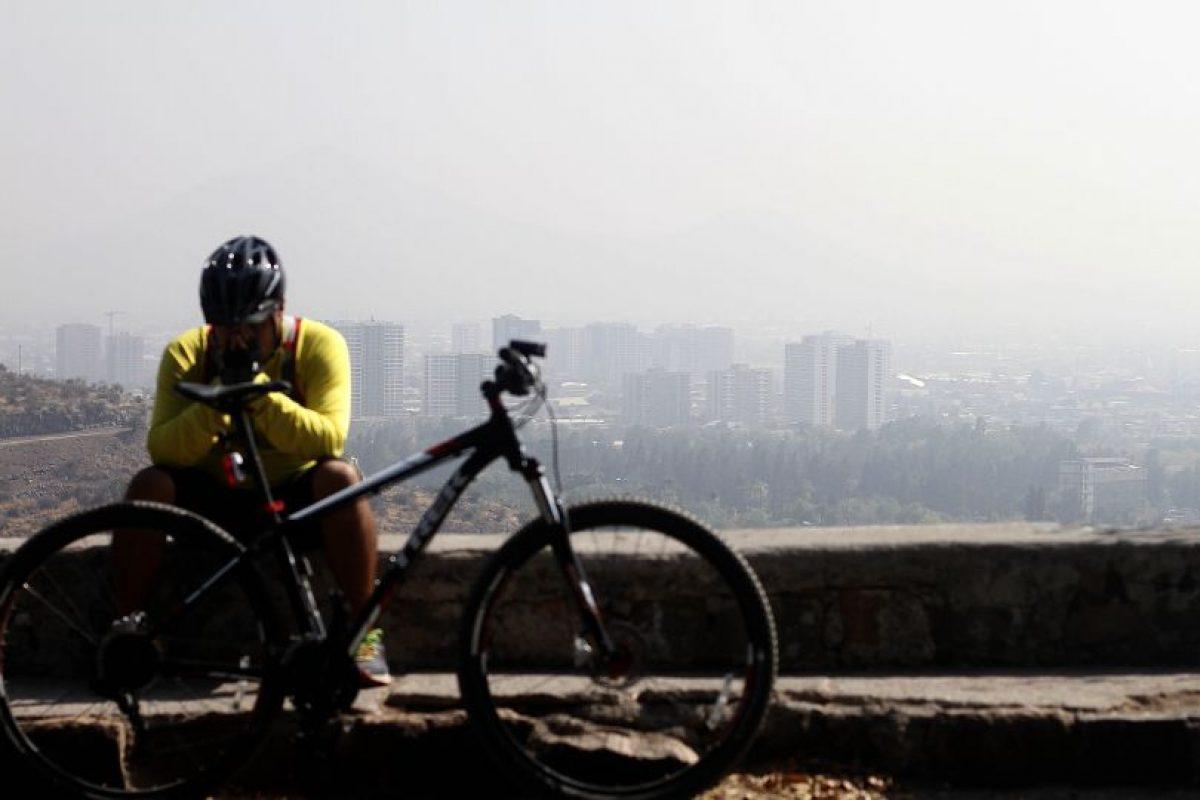 La mala calidad del aire puede agudizar el asma y producir crisis, especialmente en estos días de aire frío. Foto:Agencia Uno. Imagen Por: