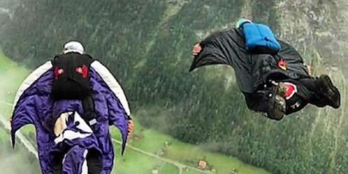 No se abrió el paracaídas: Deportista extremo muere en salto base