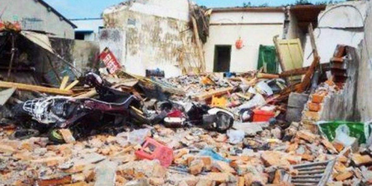 Derriba la casa de su suegro con una excavadora tras una discusión familiar