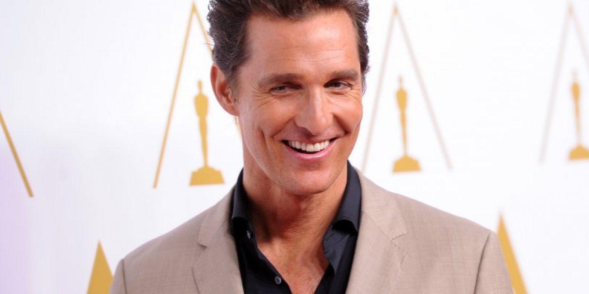 Matthew McConaughey saltaría al mundo de los superhéroes