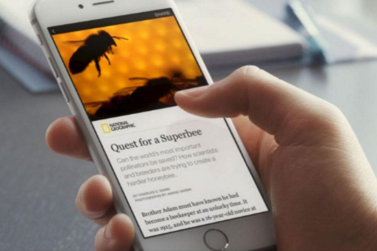 """""""Instant articles"""" es la nueva herramienta de Facebook para leer mejor y más rápido las noticias Foto:Facebook. Imagen Por:"""