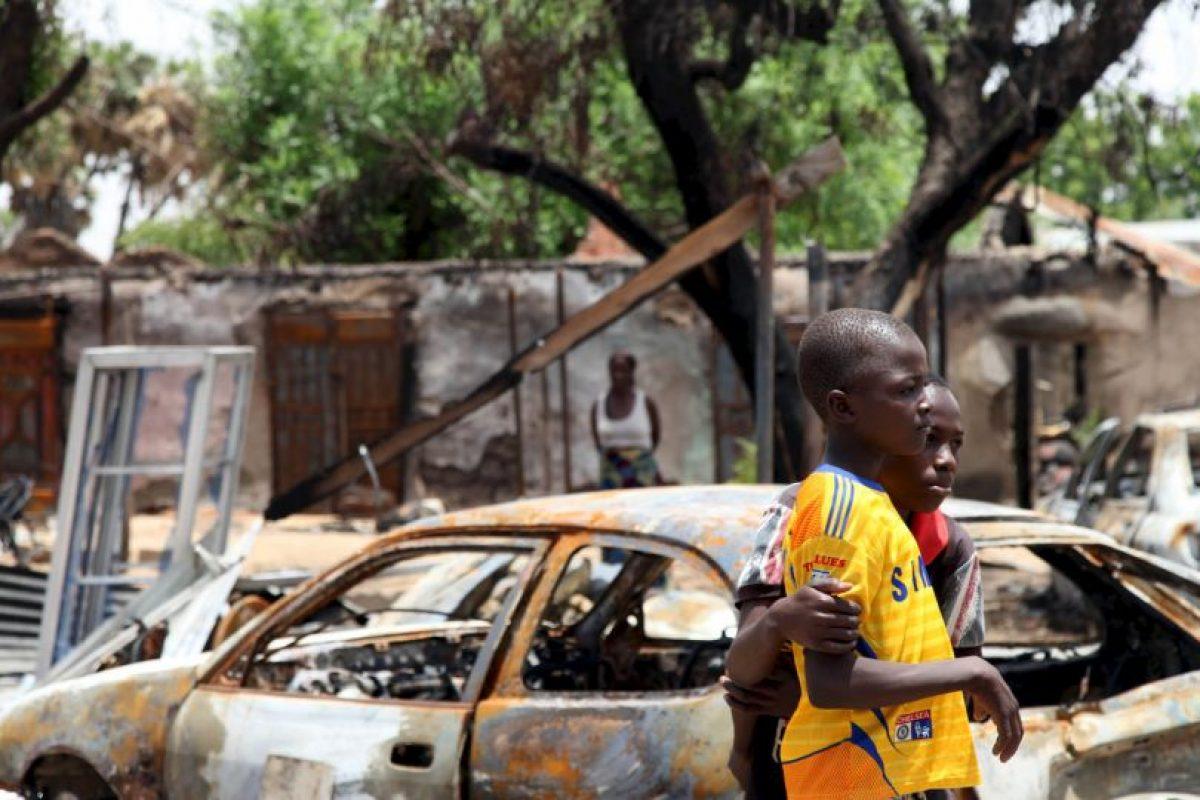Un atacante suicida mató a ocho personas e hirió gravemente a otras 14, cuando detonó explosivos atados a su cuerpo. Foto:AFP. Imagen Por:
