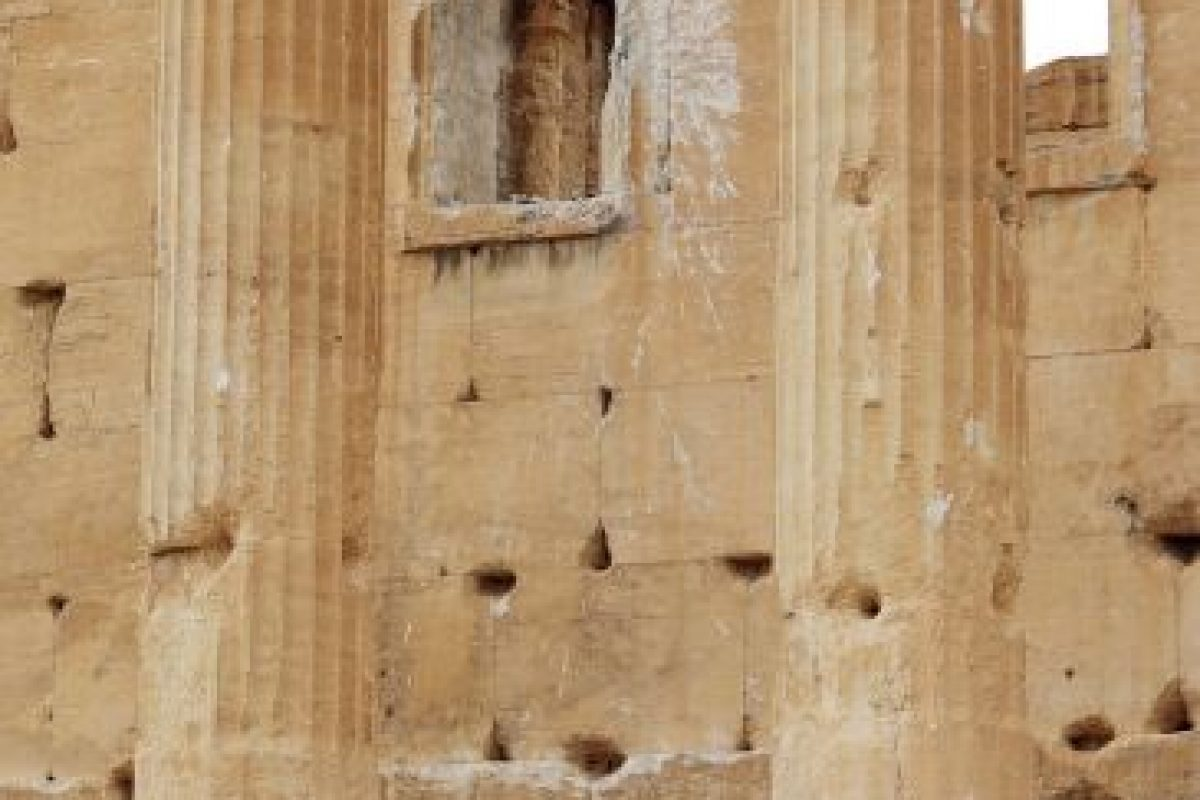 """5. """"Desde el primero hasta el siglo segundo, el arte y la arquitectura de Palmira, de pie en la encrucijada de varias civilizaciones, casando técnicas grecorromanas con las tradiciones locales y las influencias persas"""", detalla la UNESCO. Foto:AFP. Imagen Por:"""