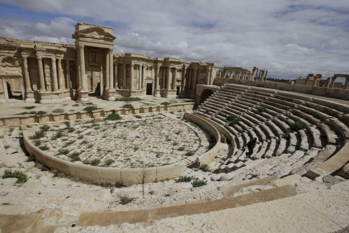 1. La ciudad de Palmira está localizada a unos 215 kilómetros al noreste de Damasco. Foto:AFP. Imagen Por: