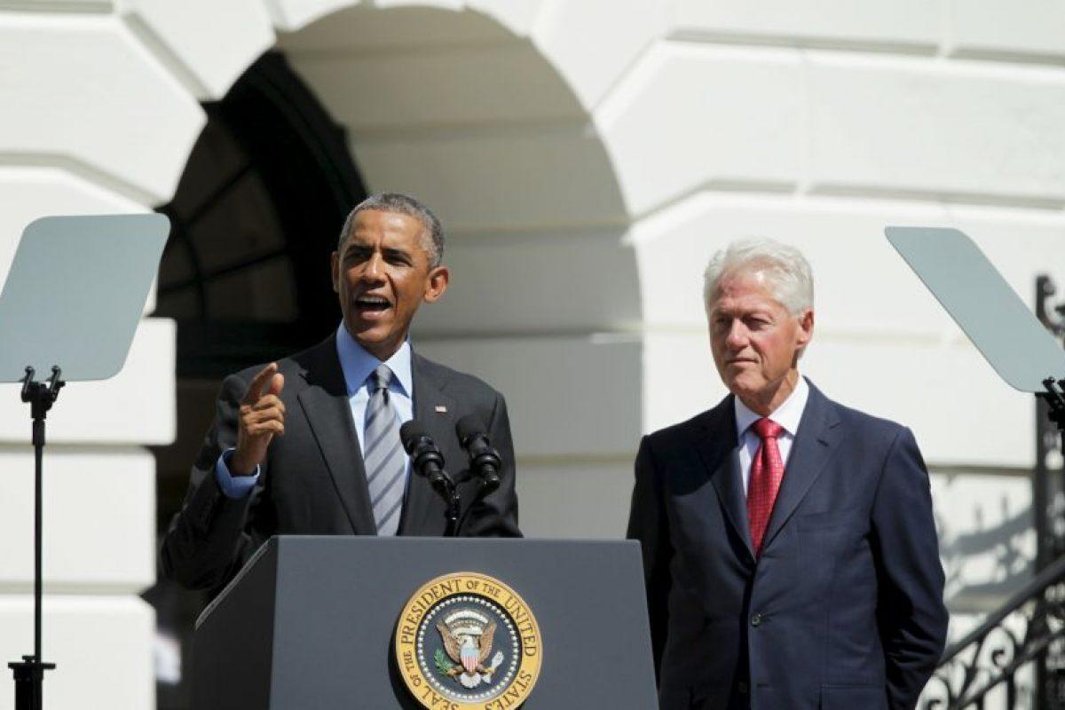 Bill Clinton fue el 42º presidente de los Estados Unidos en los periodos de 1993-1997 y 1997-2001. Foto:Getty Images. Imagen Por: