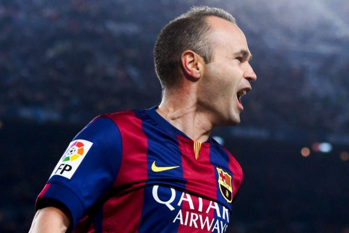 8. Andrés Iniesta – 27 títulos Foto:Getty Images. Imagen Por: