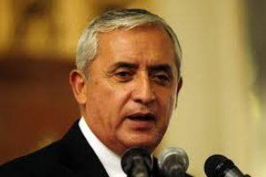 El presidente de Guatemala, Otto Pérez. Imagen Por: