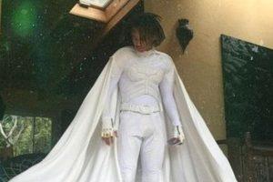¡Tarán! Se disfrazó de Batman, pero en blanco. Foto:vía Instagram. Imagen Por: