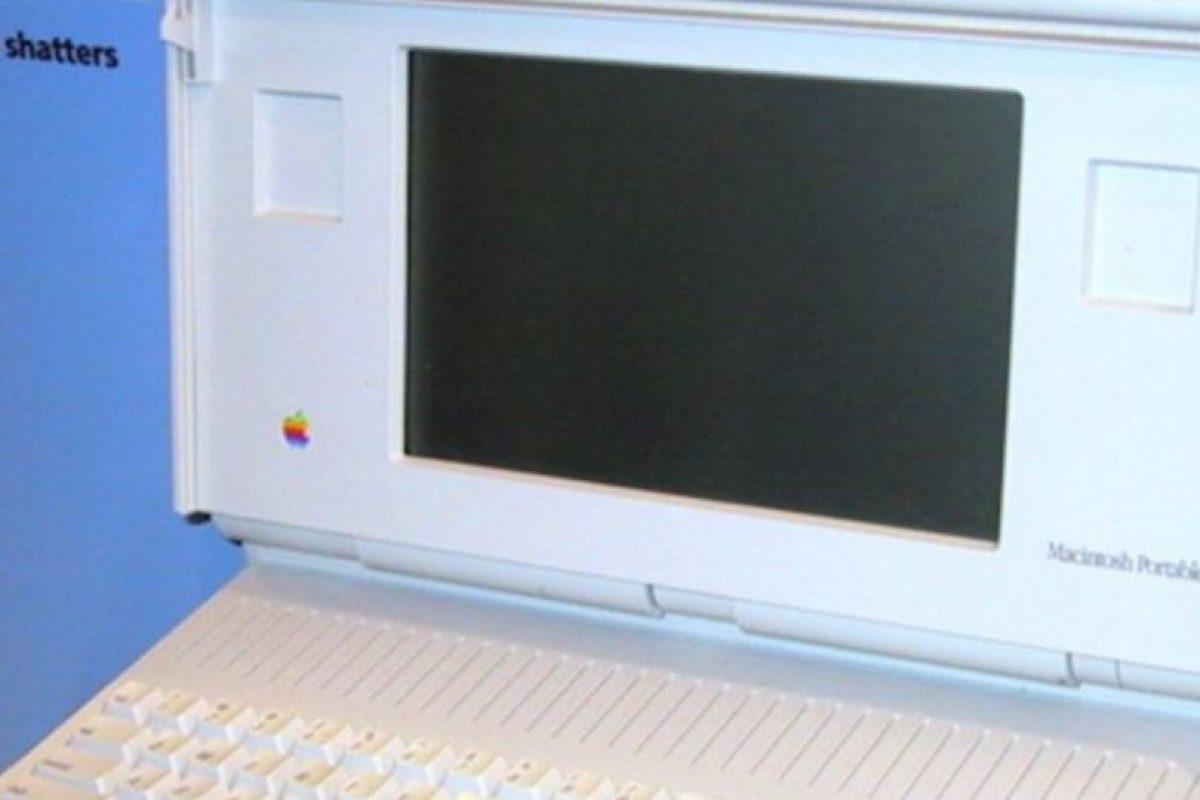 Así lucía la Macintosh Portable, cuya peor pesadilla fue el enorme y nada portable diseño Foto:Wikicommons. Imagen Por: