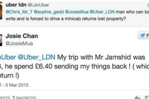 El taxista puso de su propio bolsillo para devolverle las cosas a su pasajera. Foto:Foto: Twitter. Imagen Por: