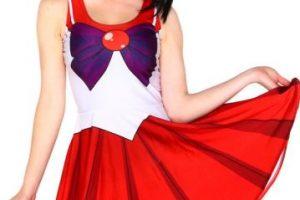 Vestido de Sailor Mars. Foto:vía Etsty. Imagen Por: