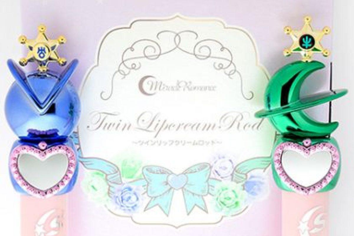 Sofisticados brillos labiales de Sailor Urano y Sailor Neptuno. Foto:vía Sailor Moon Collectibles. Imagen Por: