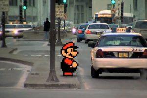 """La versión de Matthew Dominick de """"Super Mario 3"""" Foto:Dani García. Imagen Por:"""