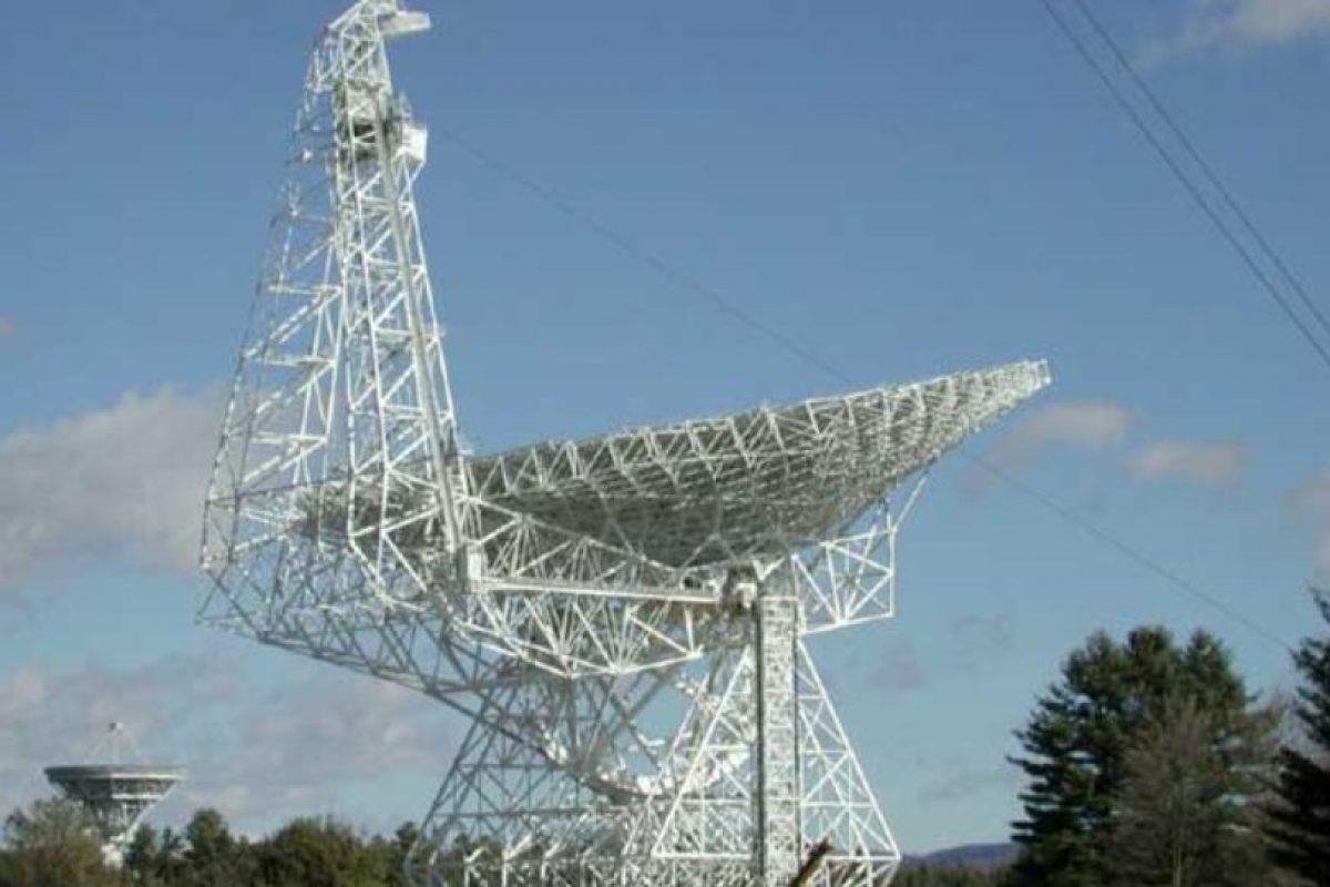 Su principal razón es el telescopio Robert C. Byrd Green Bank. Foto:Vía nasa.gov. Imagen Por: