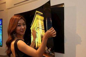 Como pueden ver, se puede desmontar y montar muy fácilmente gracias a imanes Foto:LG Display Co.. Imagen Por: