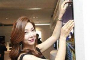 """El """"wallpaper TV"""" de LG Dispaly fue presentado a los medios de comunicación con una demostración en Corea del Sur Foto:LG Display Co.. Imagen Por:"""