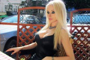 Es ucraniana y tiene 22 años. Foto:vía Facebook/Valeria Lukyanova. Imagen Por: