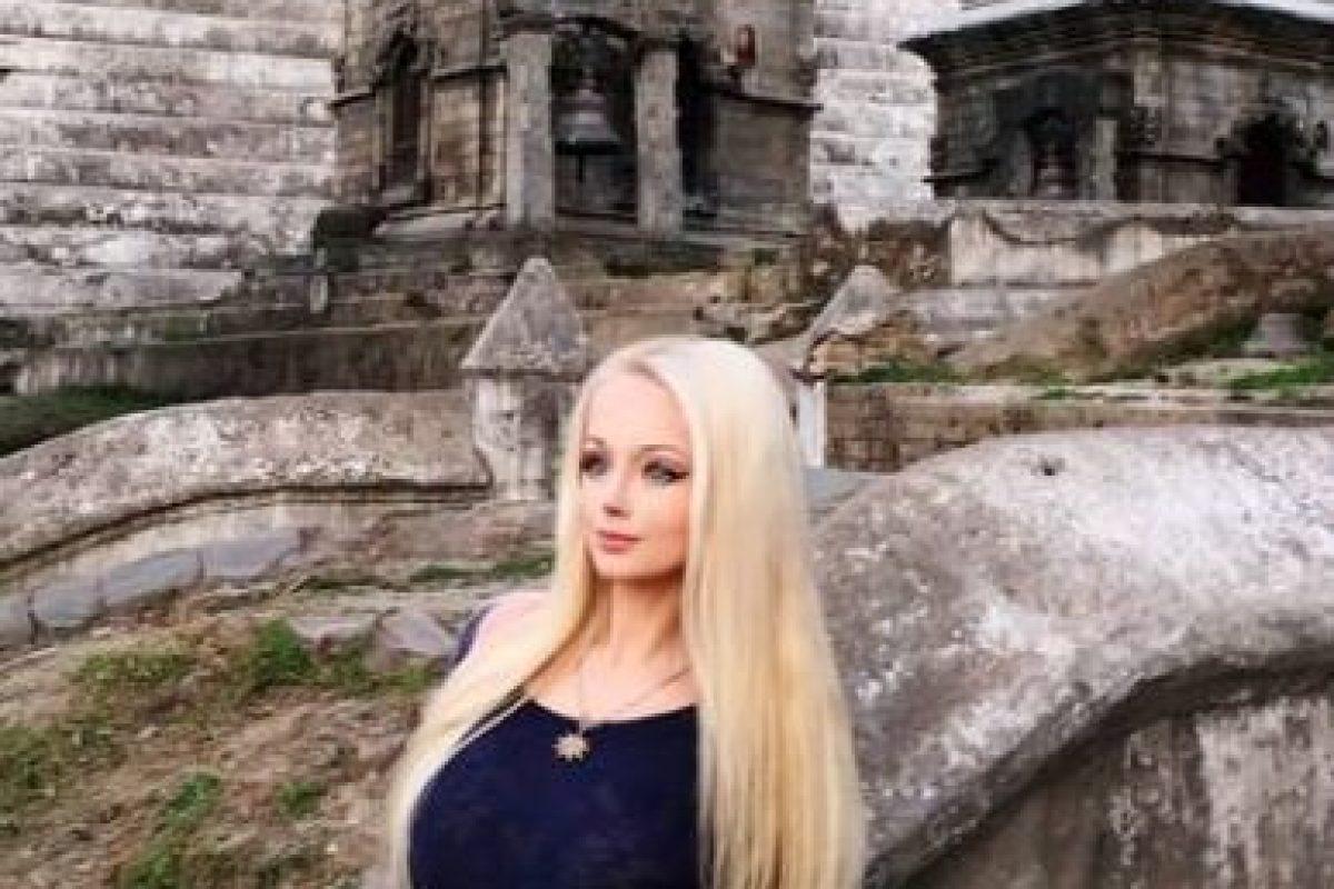 "Valeria Lukyanova, la ""Barbie"" Humana. Foto:vía Facebook/Valeria Lukyanova. Imagen Por:"