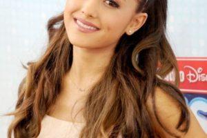 Pero es más notorio en Ariana Grande. Foto:vía Getty Images. Imagen Por: