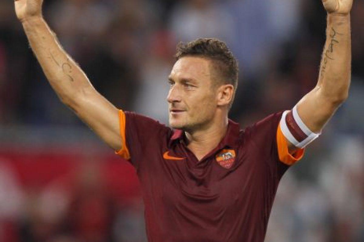 12. Francesco Totti Foto:Getty Images. Imagen Por: