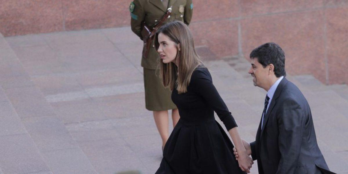 Millaray Viera le quitó el protagonismo al ministro Díaz