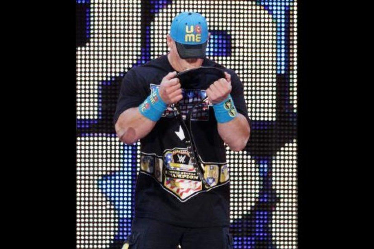 Enfrentará a John Cena en la Cámara de la Eliminación Foto:WWE. Imagen Por:
