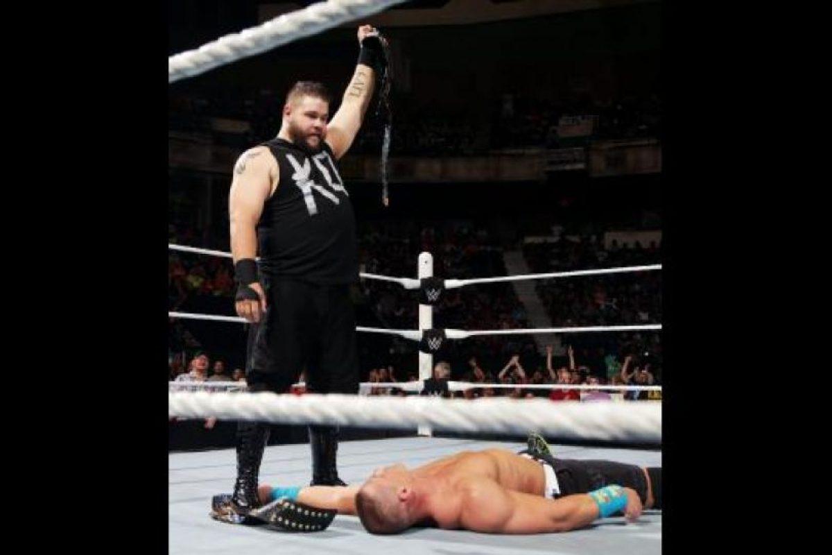 Fichó con la WWE el 12 de agosto del año pasado Foto:WWE. Imagen Por: