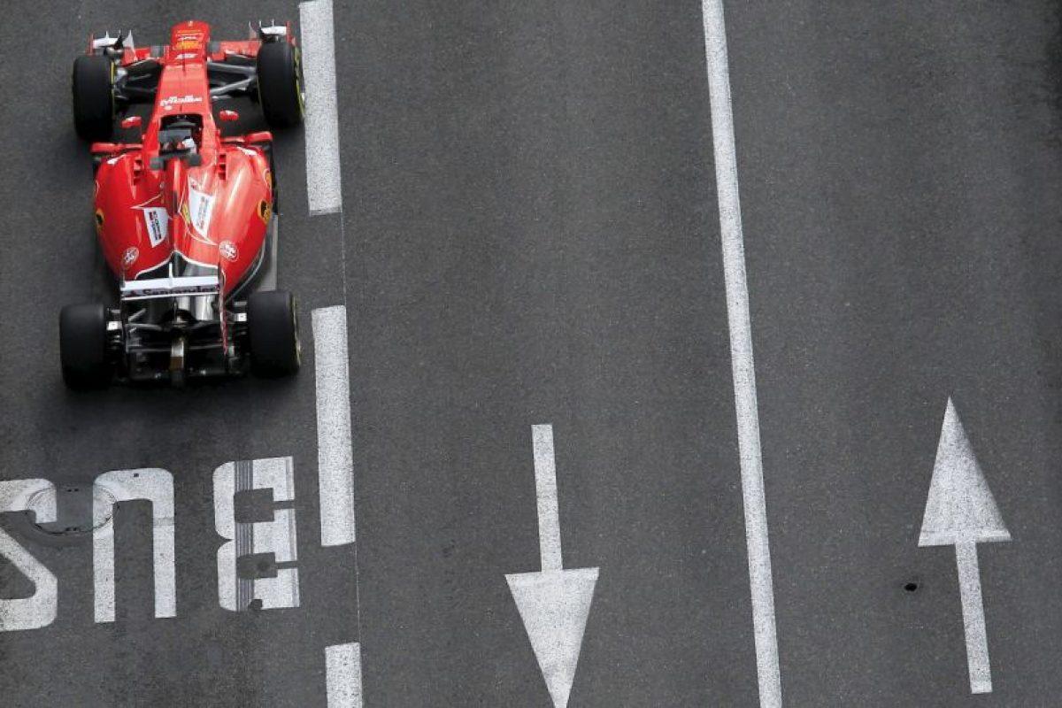 El piloto alemán Sebastian Vettel, de la escudería Ferrari. Foto:AFP. Imagen Por: