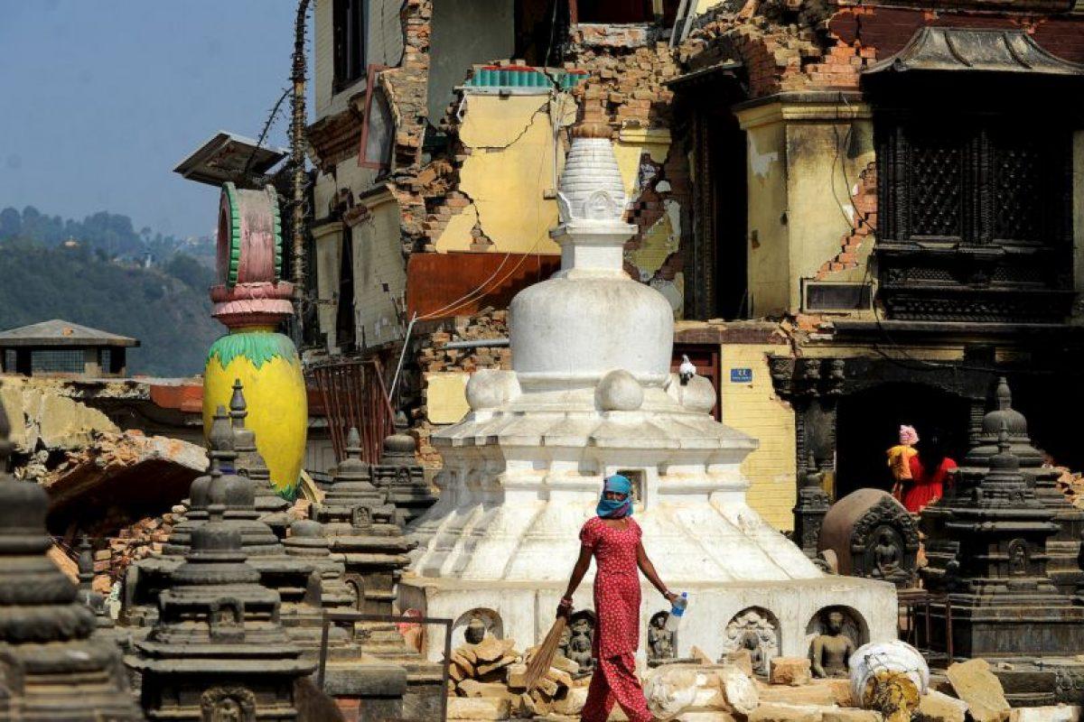 Sobrevivientes de los terremotos en Nepal. Foto:AFP. Imagen Por: