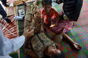 Inmigrantes en Indonesia Foto:AFP. Imagen Por: