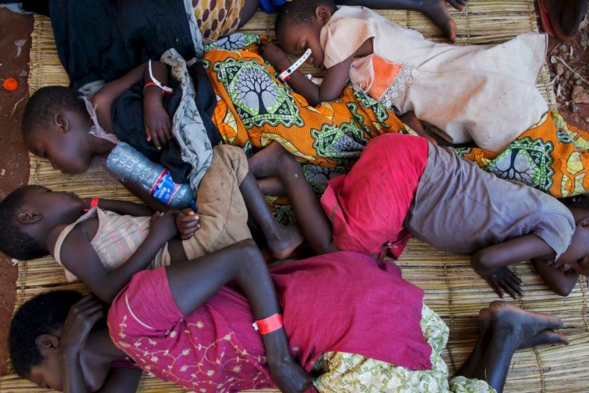 Refugiados en Burundi Foto:AFP. Imagen Por: