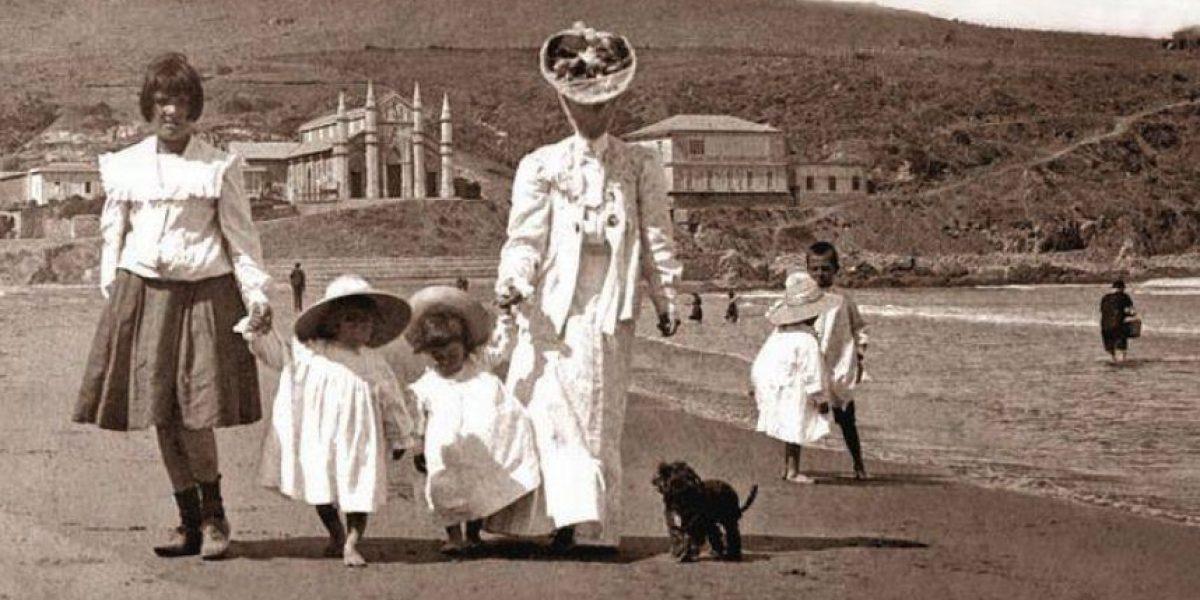 Así se disfrutaba el fin de semana largo hace más de 100 años