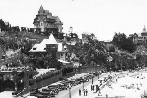 Vista balneario Miramar de Viña del Mar en 1930. Foto:Gentileza Fotos Históricas de Chile. Imagen Por: