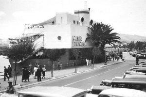Restaurant Cap Ducal, en la avenida La Marina de Viña del Mar, 1940. Foto:Gentileza Fotos Históricas de Chile. Imagen Por: