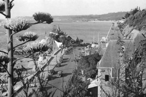 Balneario Miramar de Viña del Mar en 1951. Foto:Gentileza Fotos Históricas de Chile. Imagen Por: