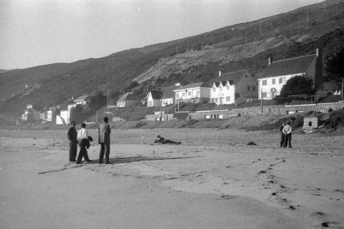 Balneario de Reñaca, año 1952. Foto:Gentileza Fotos Históricas de Chile. Imagen Por: