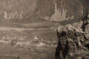Panorámica de San José de Maipo en 1919. Foto:Gentileza Fotos Históricas de Chile. Imagen Por: