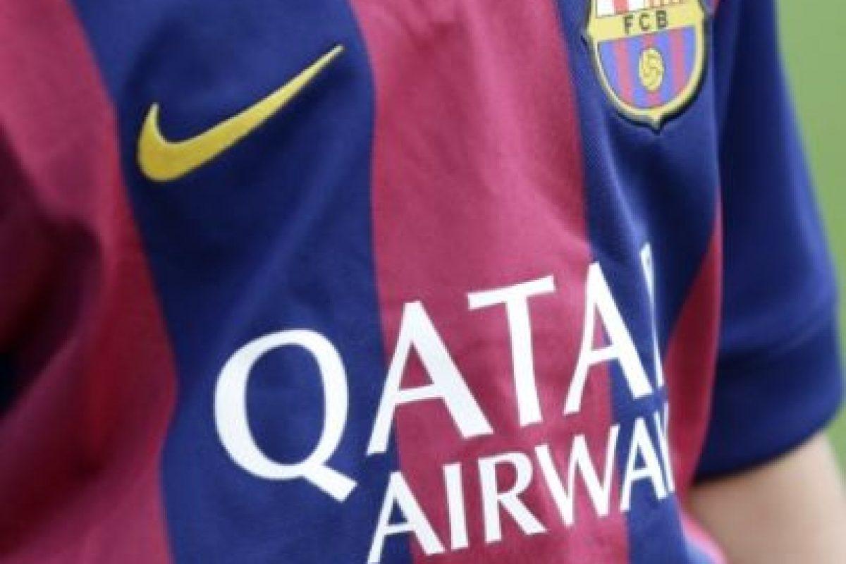 Esta es la camiseta oficial de la temporada 2014-2015. Foto:Getty Images. Imagen Por: