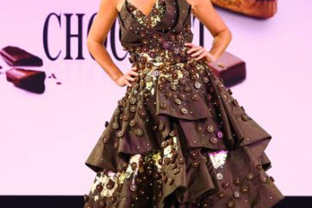 Otro vestido que Willy Wonka soñaría. Foto:vía Getty Images. Imagen Por: