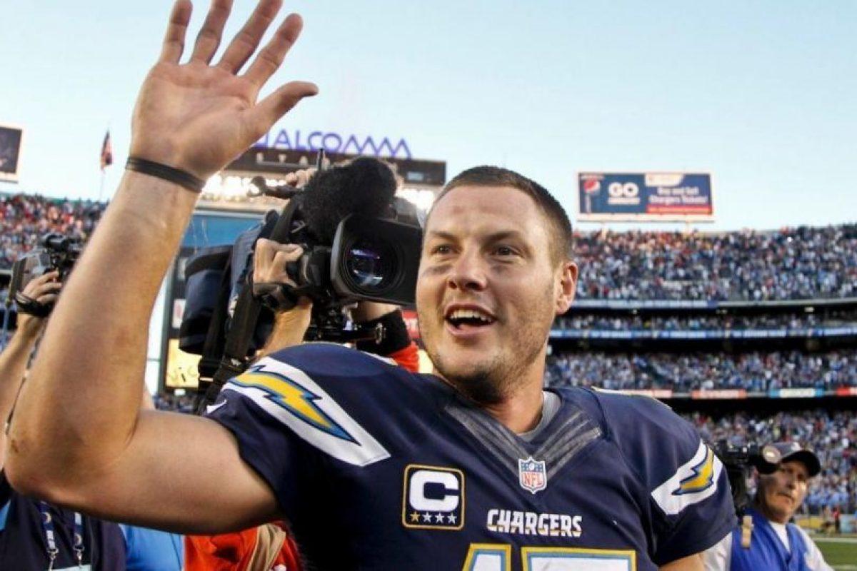 1. Phillip Rivers (NFL) Foto:Vía twitter.com/philiprivers. Imagen Por: