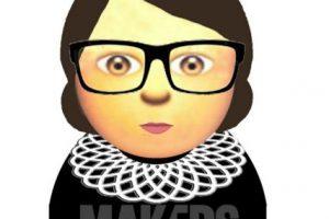 Ruth Bader Ginsburg Foto:Makers. Imagen Por: