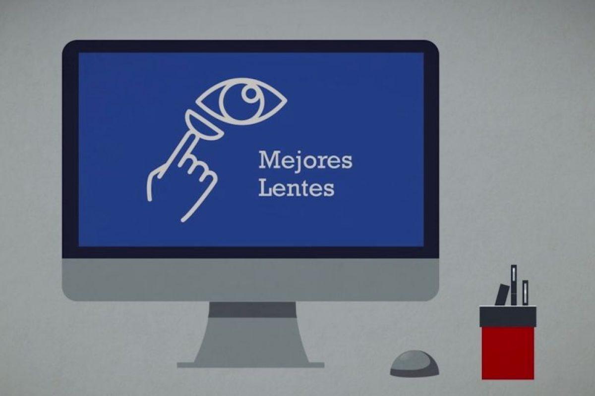Lo que ofrece Lentesplus. Foto:Lentesplus. Imagen Por: