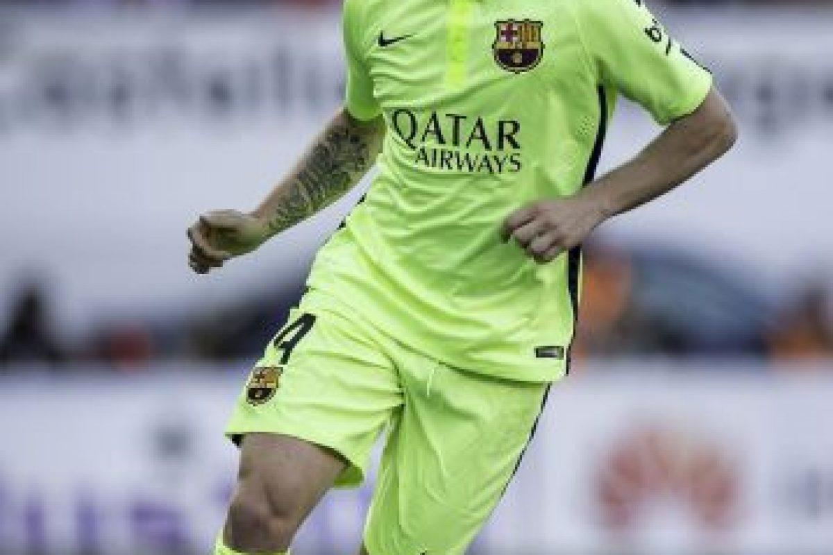 Y el tercero, que usan en Champions League. Foto:Getty Images. Imagen Por: