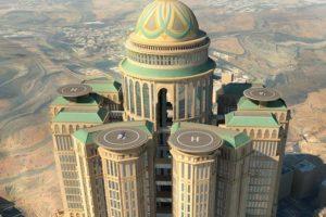Con 10 mil habitaciones planeadas, el hotel Abraj Kudai será el hotel más grande del mundo. Foto:Vía dar.dargroup.com. Imagen Por: