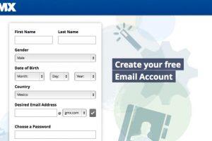 GMX es un servicio muy poco conocido. Es gratuito y funciona de forma muy sencilla, pues solo ofrece el servicio de correo Foto:GMX. Imagen Por: